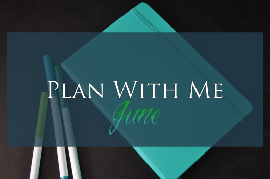 PLan With Me June Cover