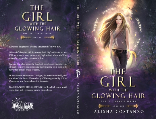 Alisha Chambers.The Lily Graves Series.The Girl with the Glowing Hair.PRINT